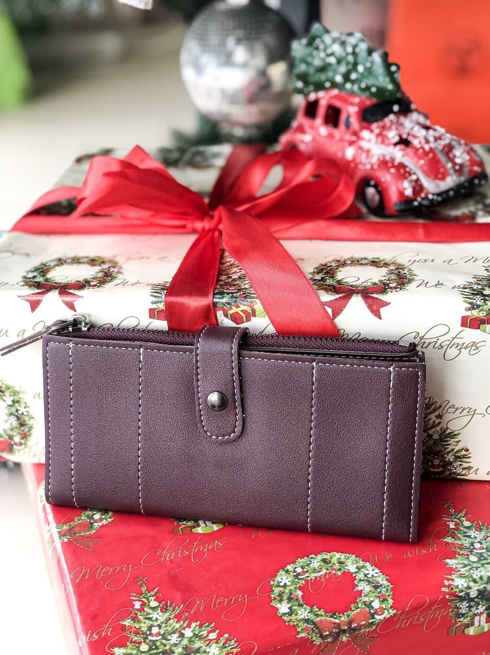 Жіночий гаманець портмоне на блискавці