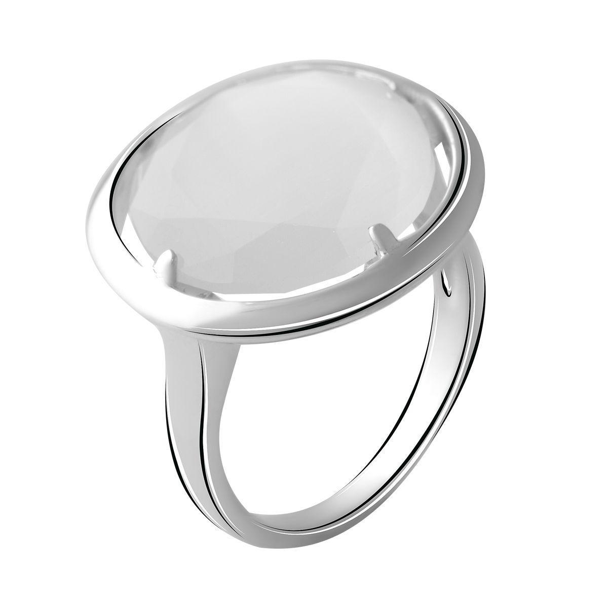 Серебряное кольцо DreamJewelry с кошачим глазом (2054092) 17.5 размер