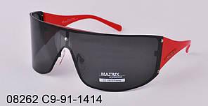 Очки Matrix поляризационные 08262 C9-91-1414 черные маска красная оправа