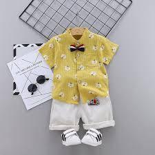 Літні костюми на хлопчика та дівчинку 2021