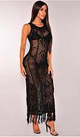 Платье-накидка прозрачное