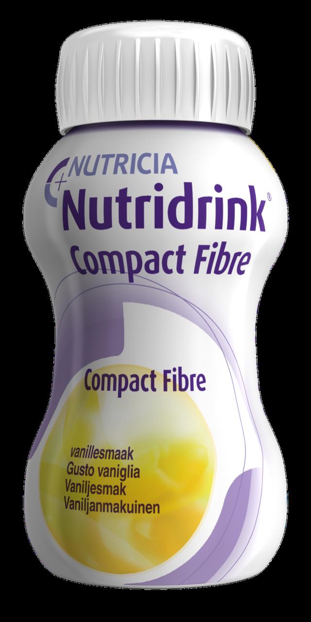 Nutridrink Compact Fibre Vanilla flavour (Нутрідрінк Компакт) охолоджуючий зі смаком ванілі, 125мл