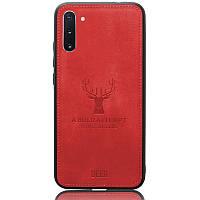 Чехол Deer Case для Samsung Galaxy Note 10 Red