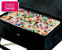 Набор скетч маркеров 262 цвета! двухсторонние спиртовые маркеры Touch Multicolor для рисования и скетчинга