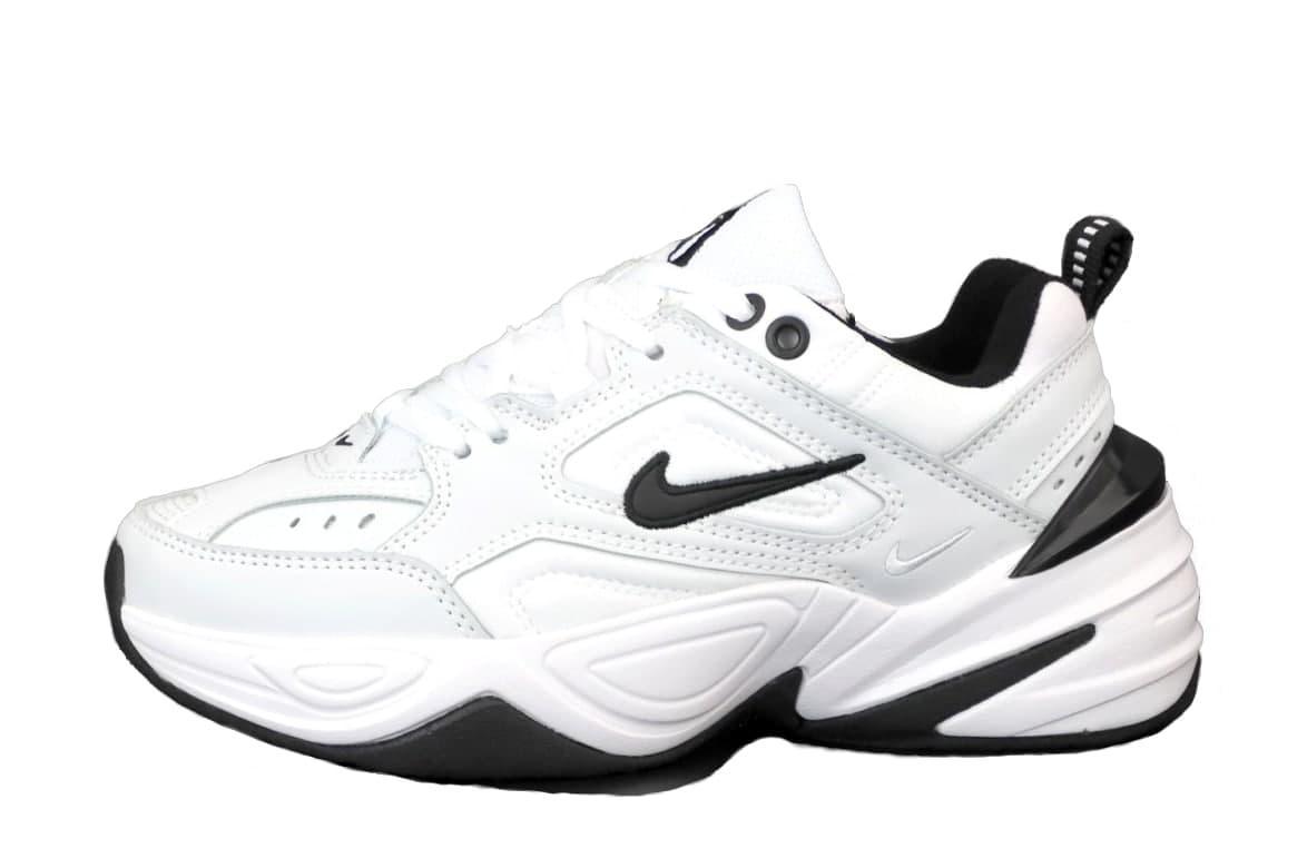 Женские кроссовки Nike M2K (черно-белые) модная легкая обувь К12444