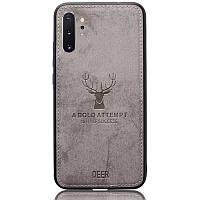Чехол Deer Case для Samsung Galaxy Note 10 Plus Grey