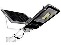 Уличный светодиодный LED фонарь на солнечной батарее FOYU 60 Вт металл (FO-660)