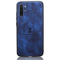 Чехол Deer Case для Samsung Galaxy Note 10 Plus Blue