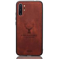 Чехол Deer Case для Samsung Galaxy Note 10 Plus Brown