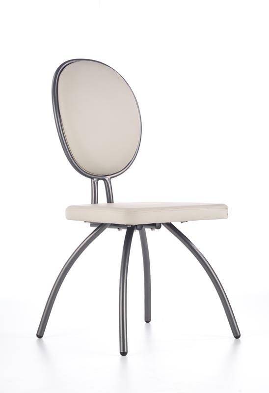 Стілець K298 стілець світло-сірий / графіт (Halmar)