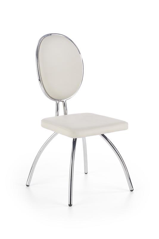Стул K297 стул светло-серый / хром  (Halmar)