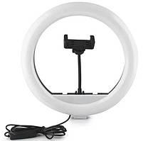 Кольцевая LED лампа для селфи RGB SP12 7618, 30 см