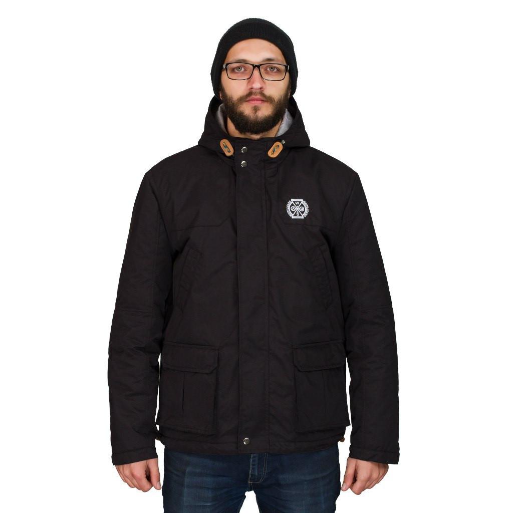 Чоловіча осіння куртка White Sand Night Screen Jacket чорна. До -5 ... a2f0fb663ac6c