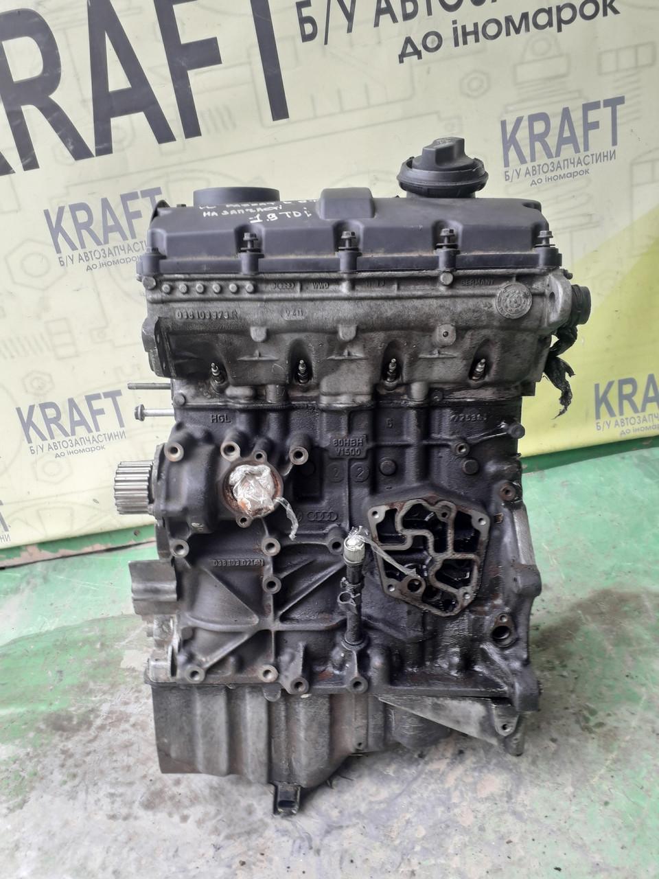 Двигатель для Volkswagen Passat B5 1.9 TDI На запчасти !!! Роспредвала нету!
