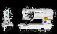 Двухигольная промышленная швейная машина ZOJE ZJ-8450