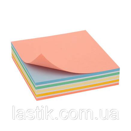 """Папір для нотаток Elite """"Color"""" 90х90х20 мм, прокл, фото 2"""