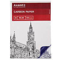Бумага копировальная A4, 100 лист., синяя