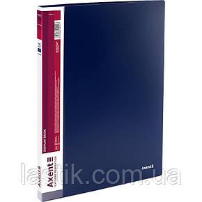 Дисплей-книга 20 файлов, синяя, фото 2