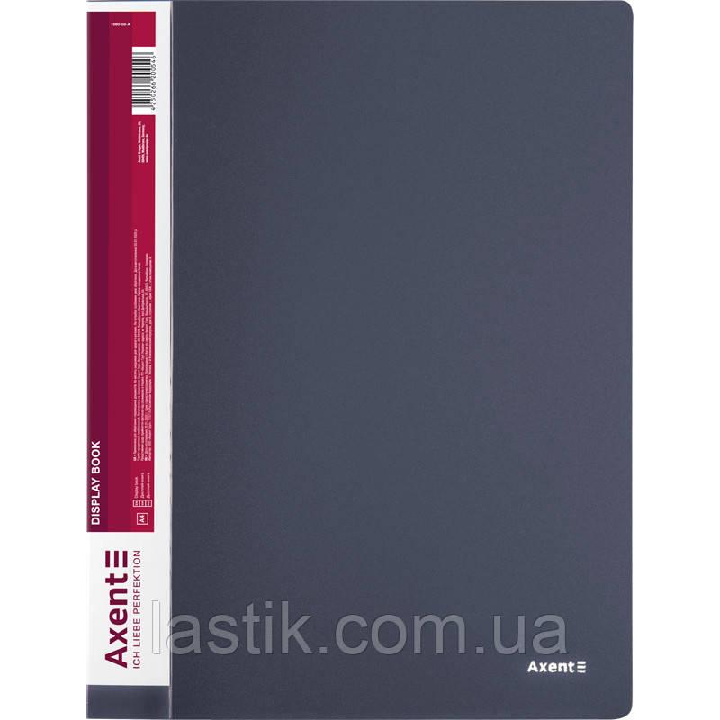 Дисплей-книга 60 файлів, сіра