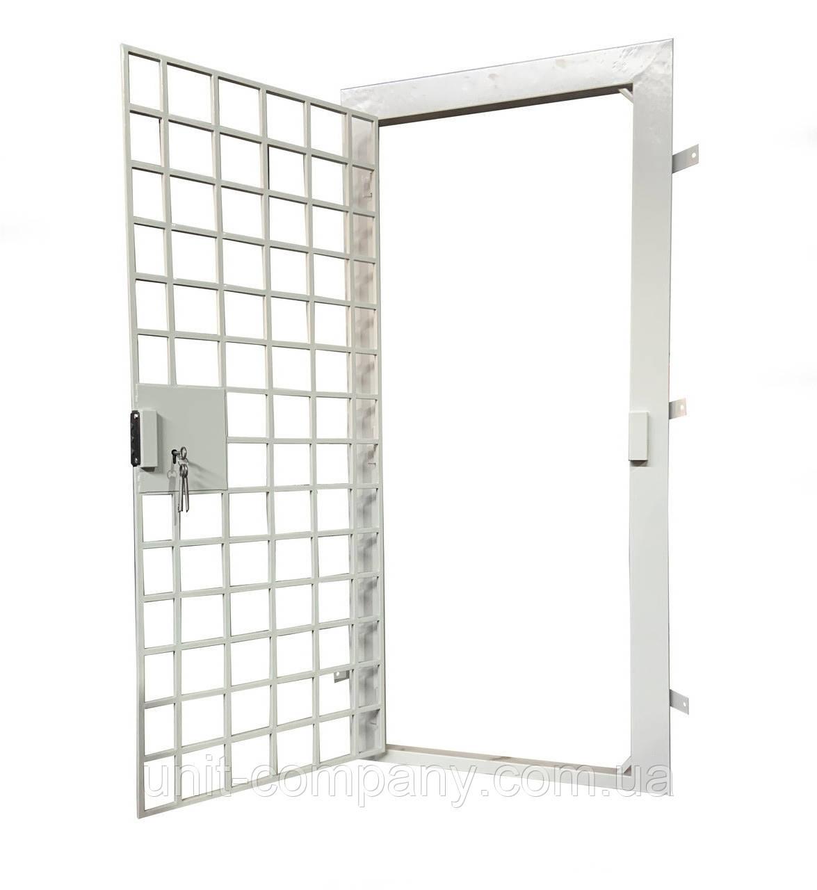 Двери решетчатые металлические