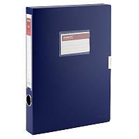 Папка-коробка, 36 мм, синяя