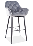 Cherry H-1 Velvet барный стул SIGNAL