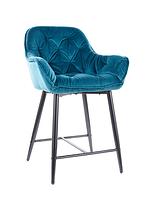 Cherry H-2 Velvet полубарный стул SIGNAL