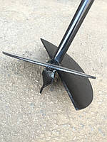 Бур садовый для перфоратора, миксера, ямобур для земляных работ sds plus, бур для заборных столбов 150 мм