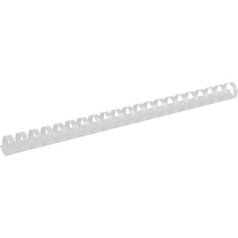 Пружина пластиковая d 19 мм, белая, 100 шт., фото 2