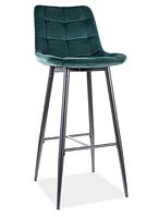 Chic H-1 Velvet барный стул SIGNAL