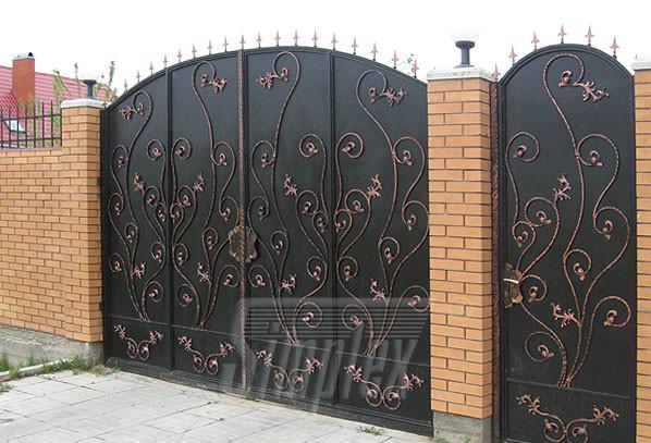 Кованые ворота эскизы