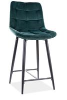 Chic H-2 Velvet полубарный стул SIGNAL