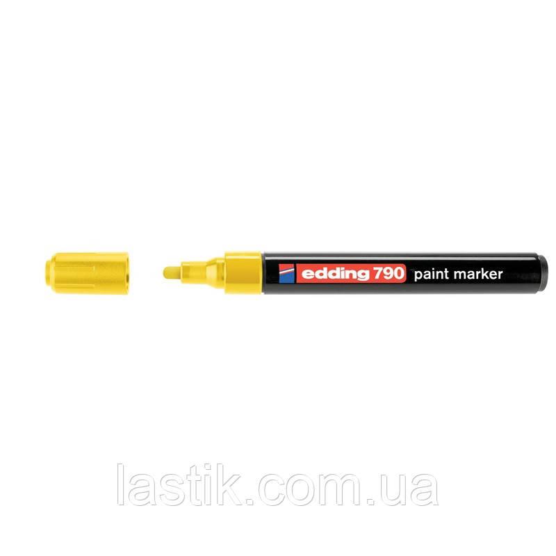Paint Маркер e-790 2-3 мм круглий жовтий