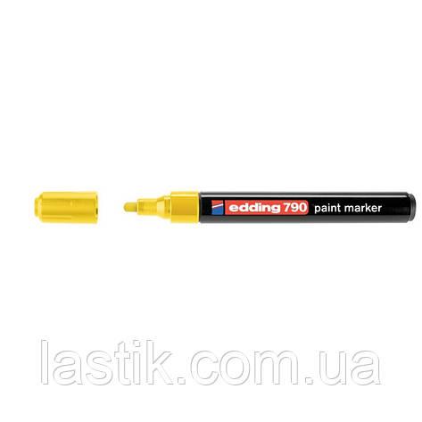 Paint Маркер e-790 2-3 мм круглий жовтий, фото 2