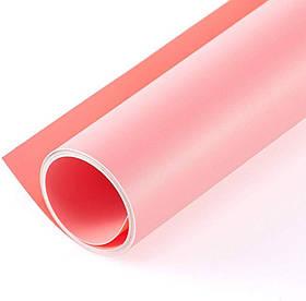 Фотофон вініловий (фон для фото предметної зйомки, рожевий 120×200 см, ПВХ)