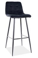 Mila H-1 Velvet барный стул SIGNAL