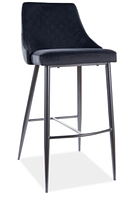 Piano B H-1 Velvet барный стул SIGNAL