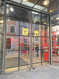 Алюмінієві вікна власного виробництва Алюмінієві двері і вікна