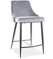Piano B H-2 Velvet полубарный стул SIGNAL