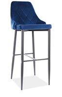 Trix B H-1 Velvet барный стул SIGNAL