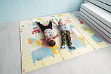 "Детский двухсторонний термоковрик  ""Алфавит/Пегас"" 1.5*2 м, фото 6"