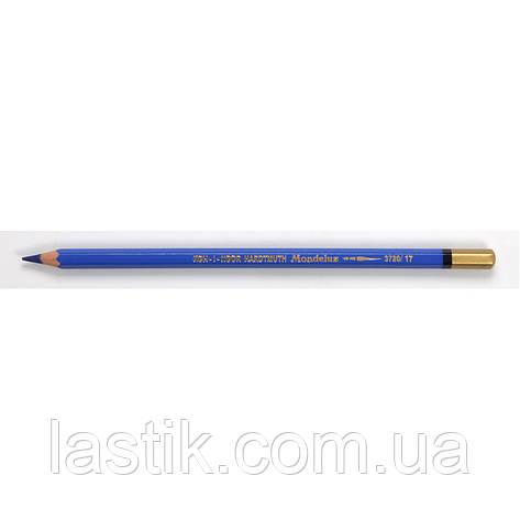 Олівець аквар MONDELUZcobalt blue/кобальтовий сін, фото 2