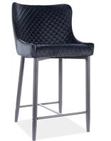 Colin B H-2 Velvet полубарный стул SIGNAL