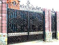 Кованые ворота калитки эскизы