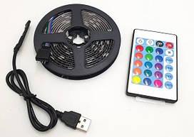 Лента светодиодная LED RGB c bluetooth 5050 с пультом 7680