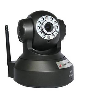 Камера IP відеоспостереження Wifi LUX H804-WS -IRS Бездротова поворотна відеокамера для дому з записом онлайн