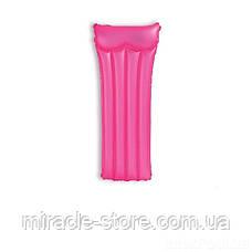 Пляжний надувний матрац для плавання Intex 59717 Neon Frost Air Mats (183х76 см) Інтекс, фото 3