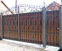 Ковані ворота і хвіртки