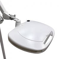 Настільна лупа-лампа з кріпленням і LED підсвічуванням (холодне світло) 6030 Led (5 діоптрії 12W) для косметології, фото 1