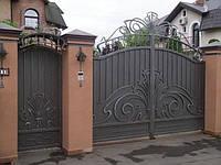 Кованые вороты заборы